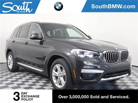 New 2019 BMW X3 sDrive30i sDrive30i
