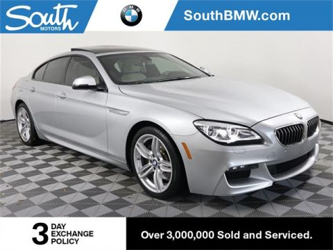 Pre-Owned 2017 BMW 6 Series 640i Gran Coupe