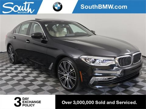Pre-Owned 2017 BMW 5 Series 540i