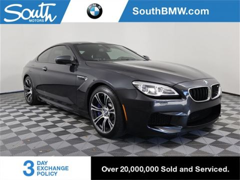 Pre-Owned 2017 BMW M6 M6 Coupe